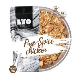 kurczak Kurczak pięciu smaków z ryżem bez laktozy
