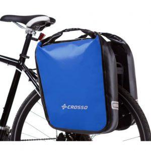 CROSSO DRY BIG 60l Sakwy rowerowe wodoszczelne