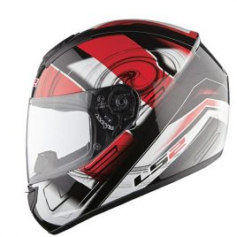 kask FF350 action white red