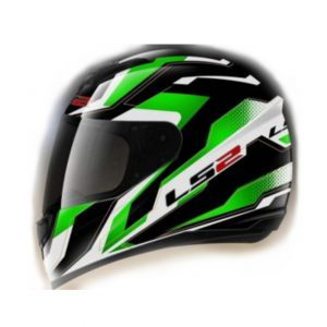 action ff350 black green kasl ls2