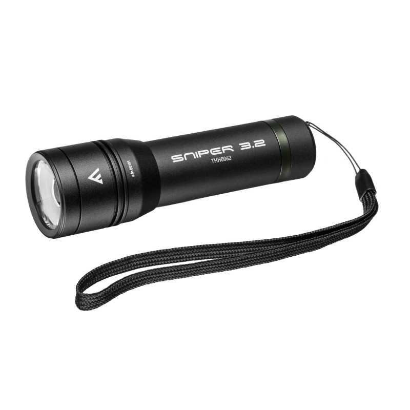 Ładowalna latarka z fokusem, 420lm, SNIPER 3.2 zoom