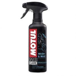 Motul E1 WASH WAX 0.400L środek do pielęgnacji mycia i woskowania motocykla