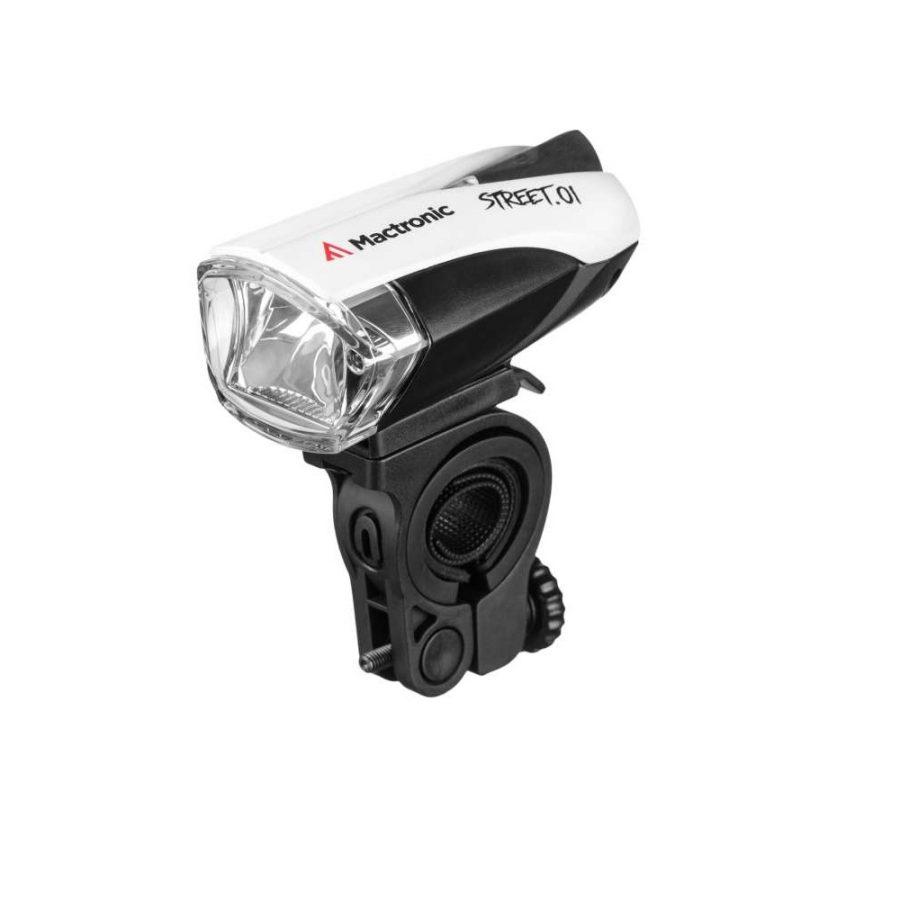 MACTRONIC STREET 01 140 lumenów – Lampa rowerowa przód