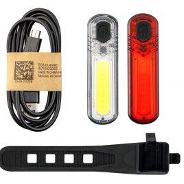 MACTRONIC DUOSLIM - Zestaw oświetlenia rowerowego, 60 lm+18 lm 1