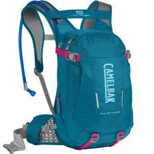 CAMELBAK SOLSTICE LR 10 - Damski plecak rowerowy 10l niebiesko różowy