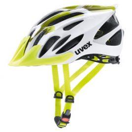 UVEX FLASH - Kask rowerowy uniwersalny limonkowo-biały