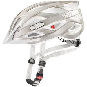 UVEX I-VO 3D - Kask rowerowy uniwersalny srebrny