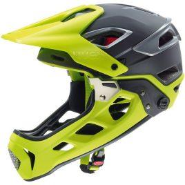 UVEX JAKKYL HDE - Kask rowerowy do jazdy ekstremalnej zółty