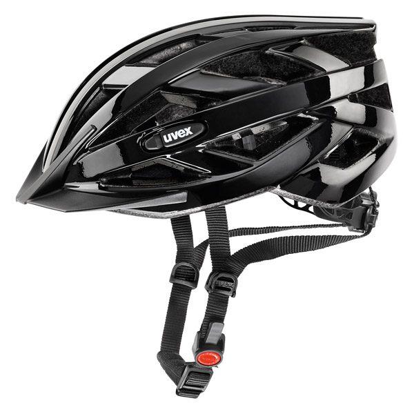 Uvex I-VO - Kask rowerowy z ruchomym daszkiem czarny