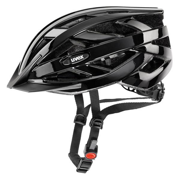 Uvex I-VO – Kask rowerowy z ruchomym daszkiem czarny