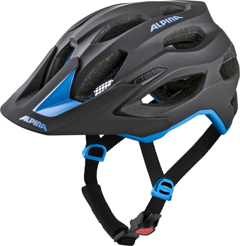 ALPINA CARAPAX 2.0- Kask rowerowy black blue