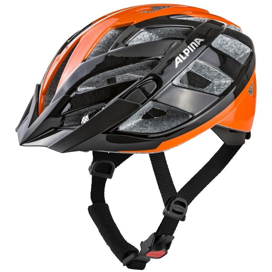 ALPINA PANOMA 2.0 – Kask rowerowy rekreacyjny BLACK-ORANGE