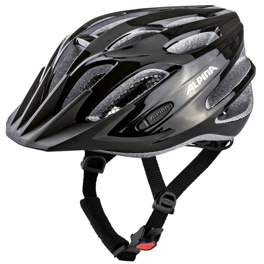 ALPINA TOUR 2.0 – Kask rowerowy BLACK