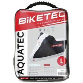BIKETEC AQUATEX – Pokrowiec na motocykl (czarno-szary)