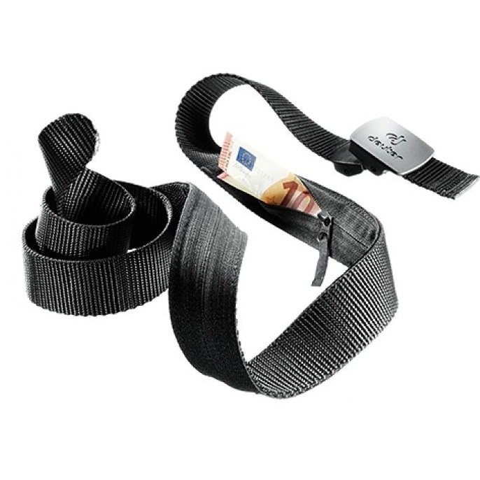 DEUTER SECURITY BELT – Dyskretny pasek na banknoty black 1