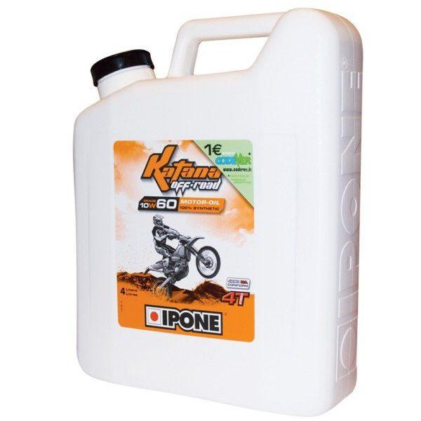 IPONE KATANA OFF ROAD 10W60 - Olej silnikowy 4+1 litra