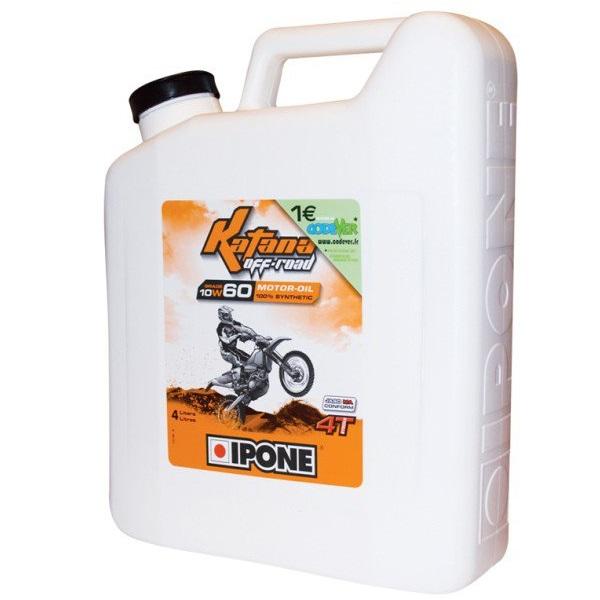 IPONE KATANA OFF ROAD 10W60 – Olej silnikowy 4+1 litra