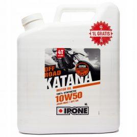 IPONE KATANA OFF ROAD 10W50 – Olej silnikowy 4+1 litra